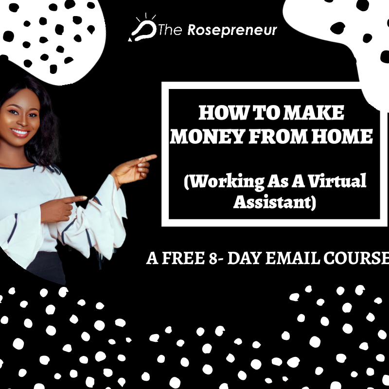 how to make money from home working as a virtual assistant