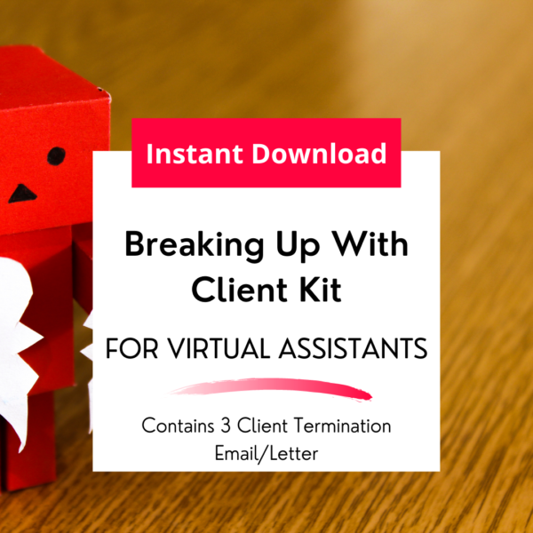 breaking up with client kit