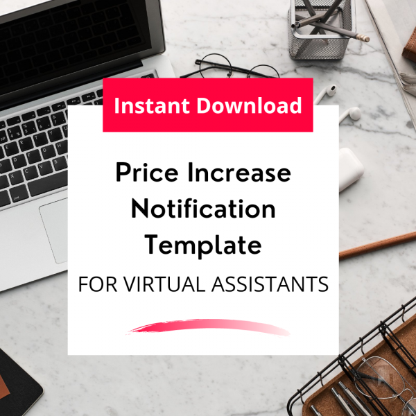 price increase notification