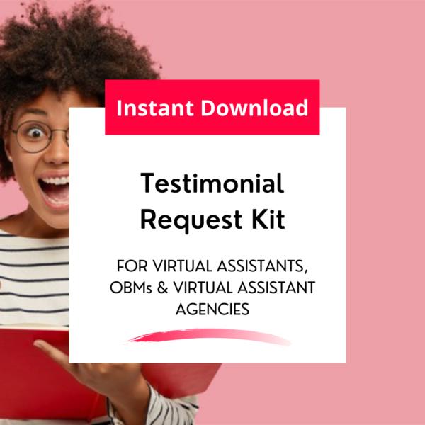 testimonial request kit